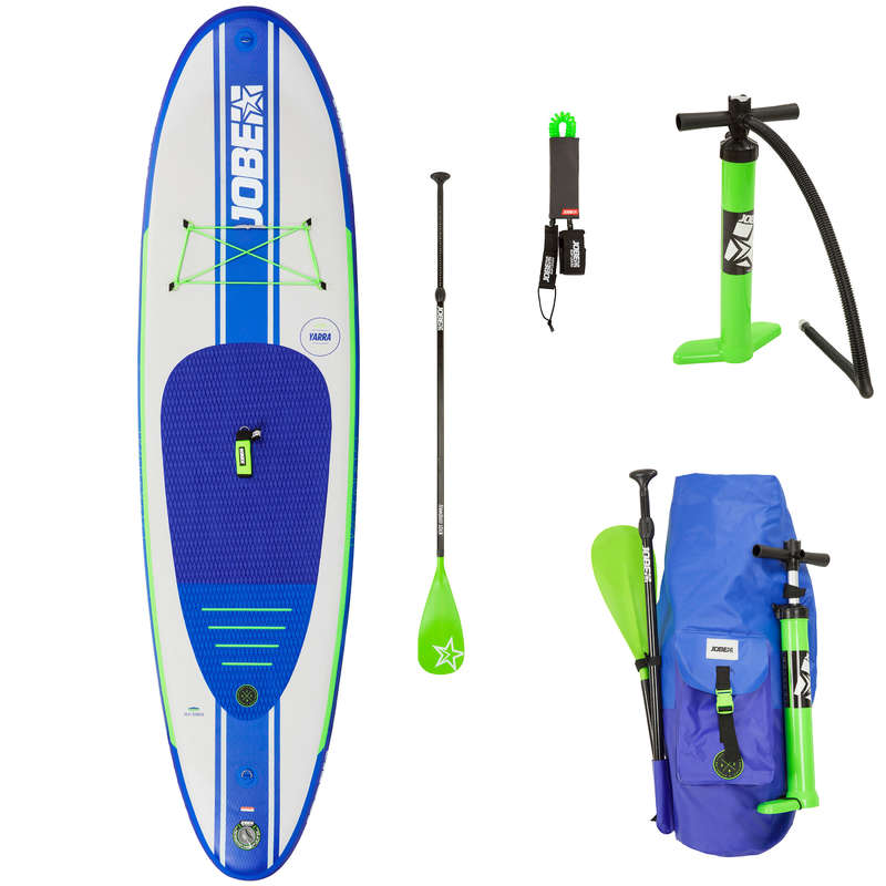 TOURING INFLATABLE SUP Stand Up Paddle - SUP AERO YARRA 10'6 PACK V19 JOBE - SUP Boards