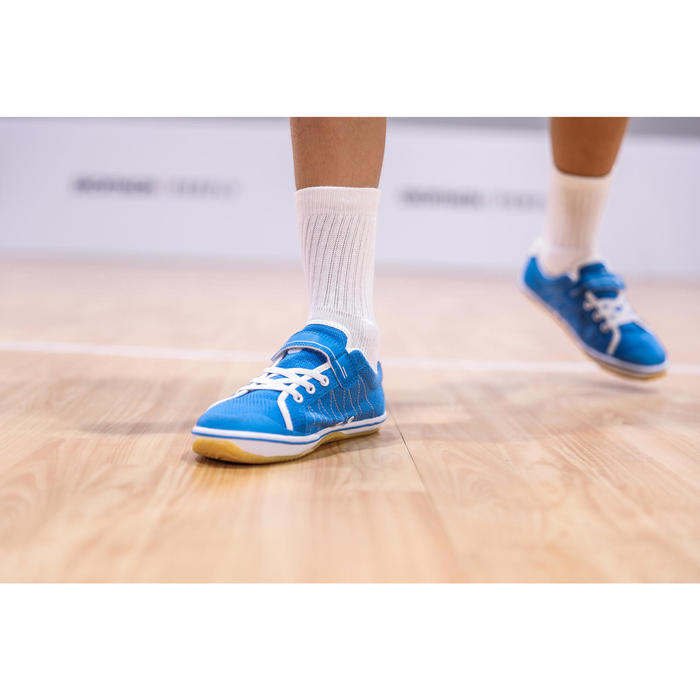 Chaussures De Badminton BS100 Junior - Bleu