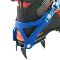 12-point mountaineering CRAMPONS - CAIMAN STRAPS