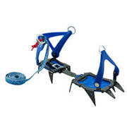 Mountaineering 10-point CRAMPONS - CAIMAN 2 STRAPS