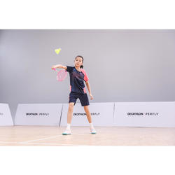 Badmintonracket voor kinderen BR 160 Easy Grip roze
