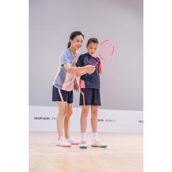 女童款羽球鞋BS 160-粉紅色