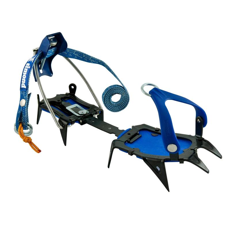 10-point mountaineering CRAMPONS - CAIMAN 2 MIXTE