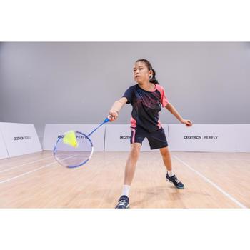 Short de badminton Junior 560 - Marine/Rose