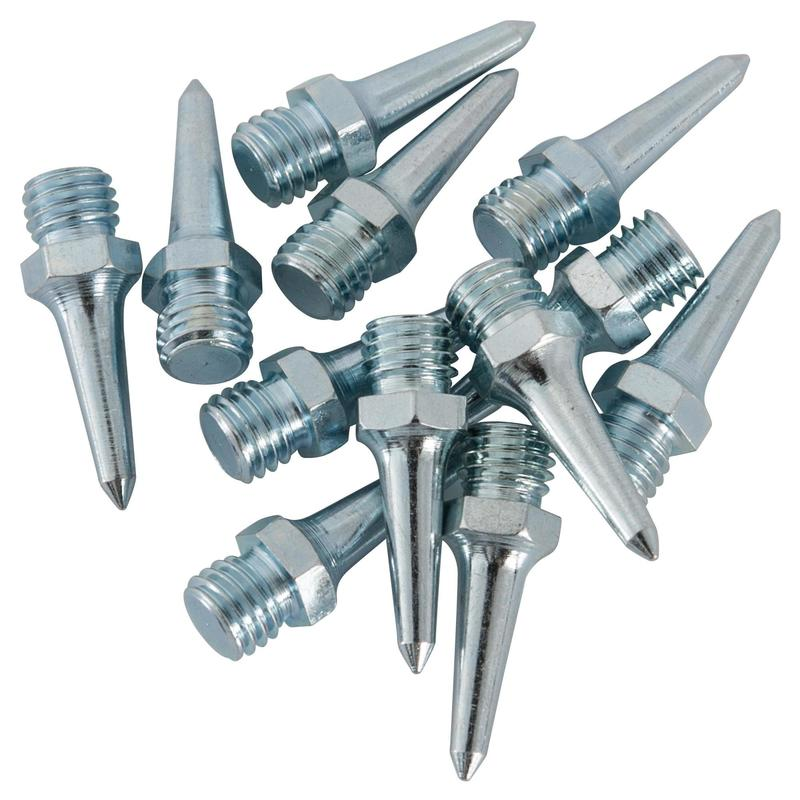 SET OF 12 STEEL 15 MM SPIKES FOR ATHLETICS SHOES