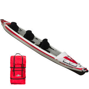 CANOA KAYAK HINCHABLE YAKKAIR FULL ALTA PRESIÓN 3 PLAZAS
