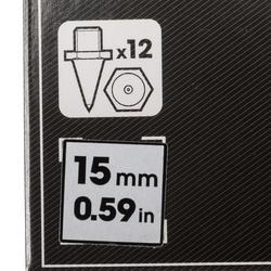 Set zeskantspikes 15 mm - 159713