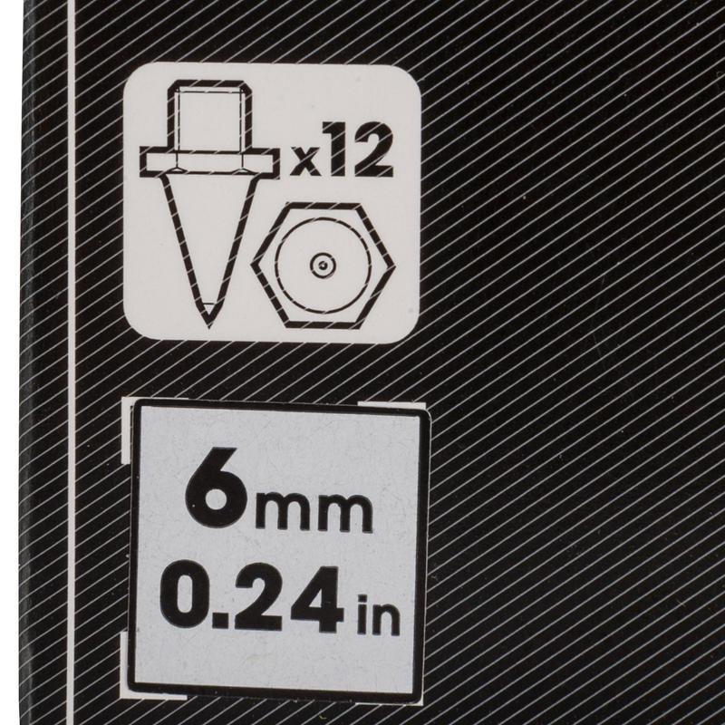 Bộ sáu đinh 6 mm Kal Hex