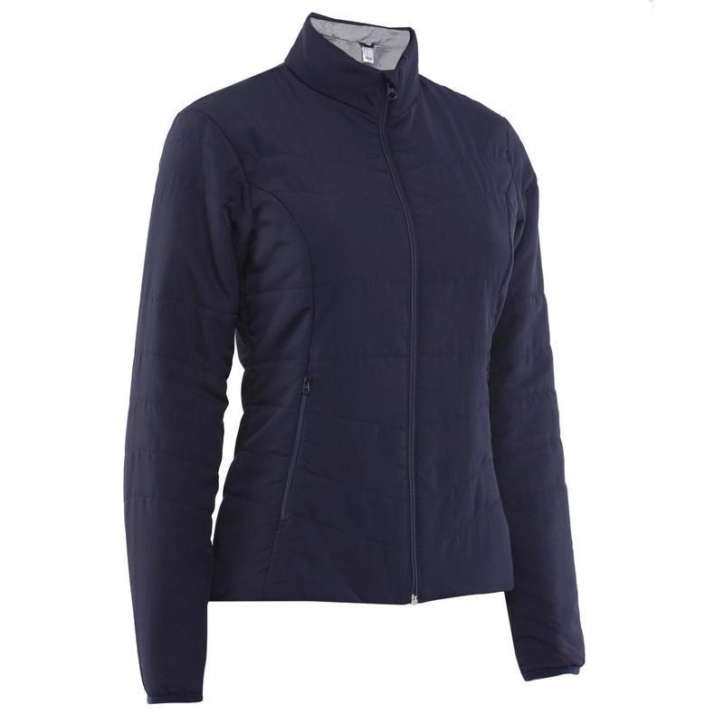 59c035ae99c457 Hiking Padded Jacket for Women | NH100 Hiking Jacket Navy | Decathlon