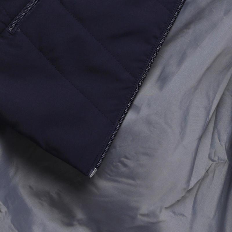 Women's Hiking Padded Jacket NH100 - Navy