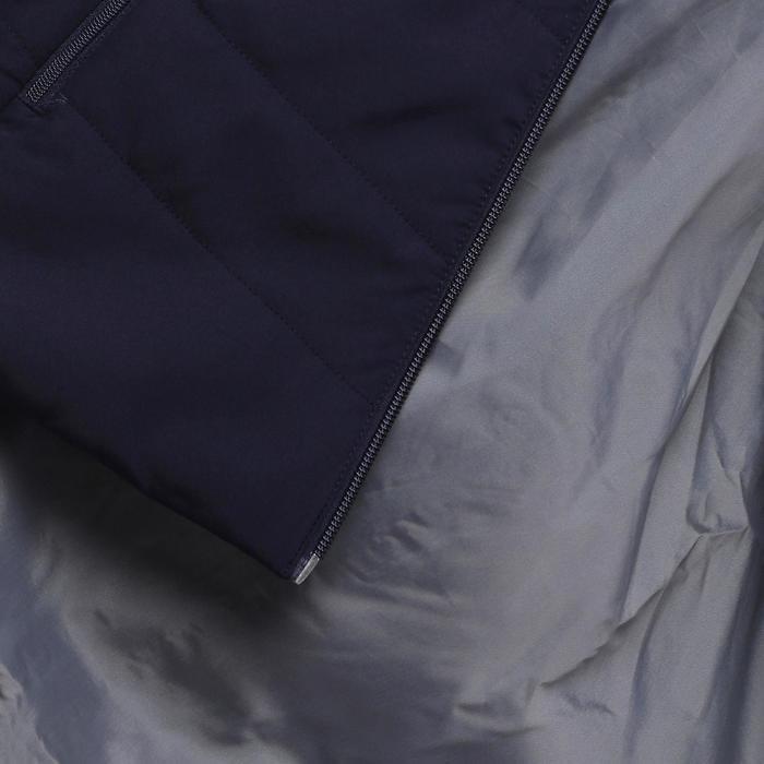 Chaqueta acolchada de senderismo en la naturaleza para mujer NH100 azul marino