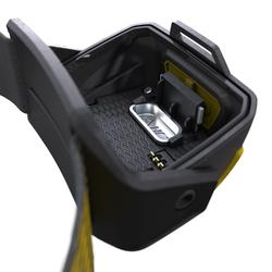 Linterna Frontal Montaña Trekking Forclaz TREK900 Recargable USB 400 lúmenes