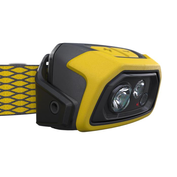 USB可充式健行頭燈TREK 900-400流明-黃色