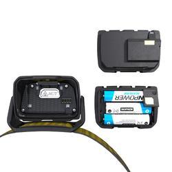 Lampe frontale de trekking rechargeable - TREK 900 USB jaune - 400 lumens