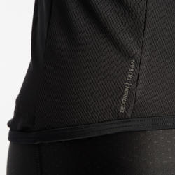 RC500 Road Cycling Short-Sleeved Warm Weather Jersey - Black