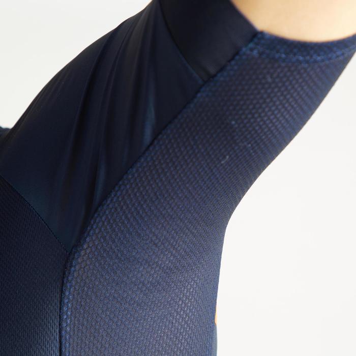 Wielershirt RC500 met korte mouwen voor heren blauw