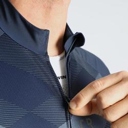 Wielershirt RC500 X met korte mouwen voor heren blauw