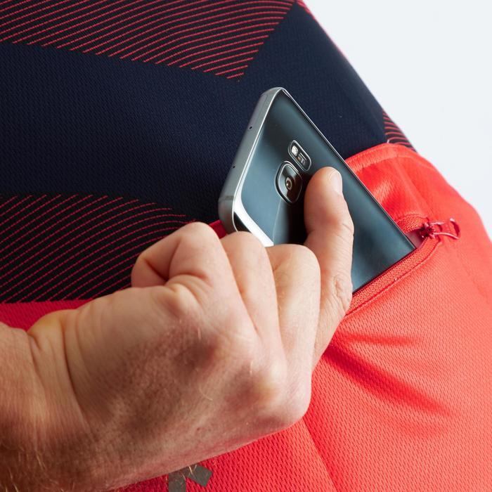 Wielershirt RC500 X met korte mouwen voor heren rood/marineblauw