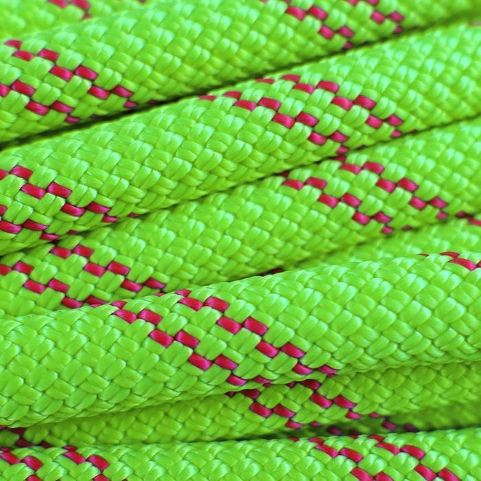 Corde à double d'escalade et d'alpinisme Rappel 8.1mm x 60m Verte