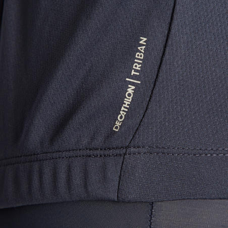 Джерсі 100 для шосейних перегонів/велотуризму в теплу погоду - Темно-синя