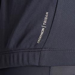 Wielershirt heren RC100 met korte mouwen marine/blauw