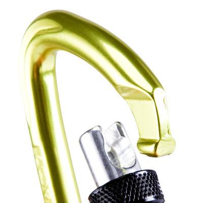 قفل معدات التسلق ROCKY - لون أصفر