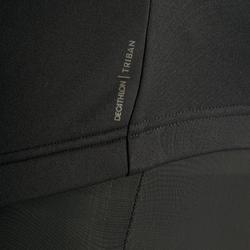 Wielershirt RC100 met lange mouwen voor heren turkooisblauw/zwart