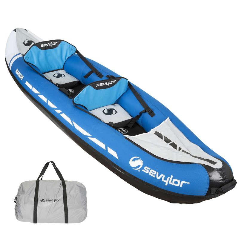 TOURING INFLATABLE CANOE KAYAKS Kayaking - INFLAT. 2-PERSON KAYAK WABASH SEVYLOR - Kayaks