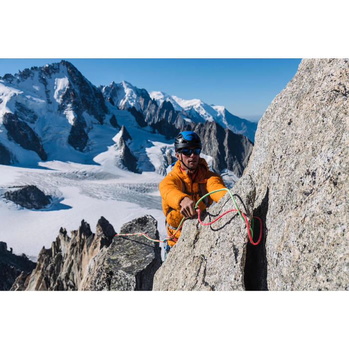 Corde à double dry d'escalade et d'alpinisme 8.1 mm x 60 m - Rappel 8.1 Rose