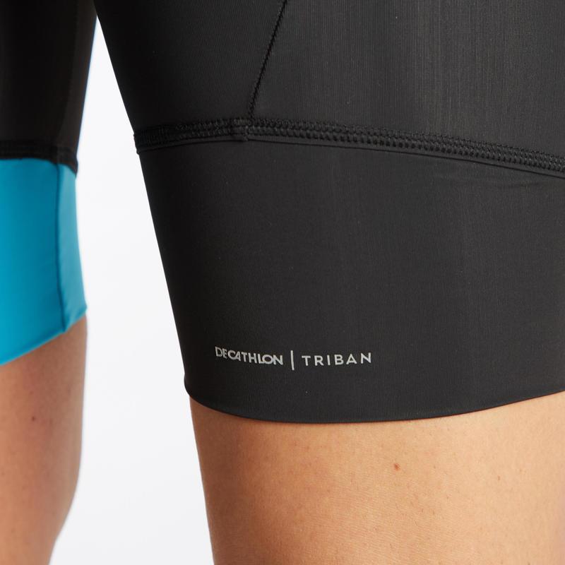 RC100 Bibless Sport Cycling Shorts - Black/Blue