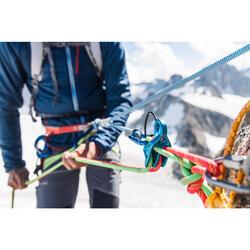 Asegurador Descensor Escalada Alpinismo Simond Toucan Light Azul