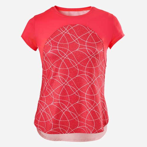 shopping pensieri su nuovo concetto T-shirt bambina gym S900 rossa DOMYOS - ABBIGLIAMENTO LEGGERO ...