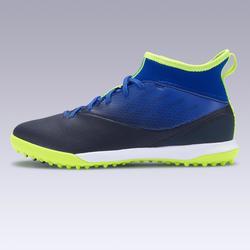 Voetbalschoenen voor kinderen hard terrein Agility 500 blauw/zwart