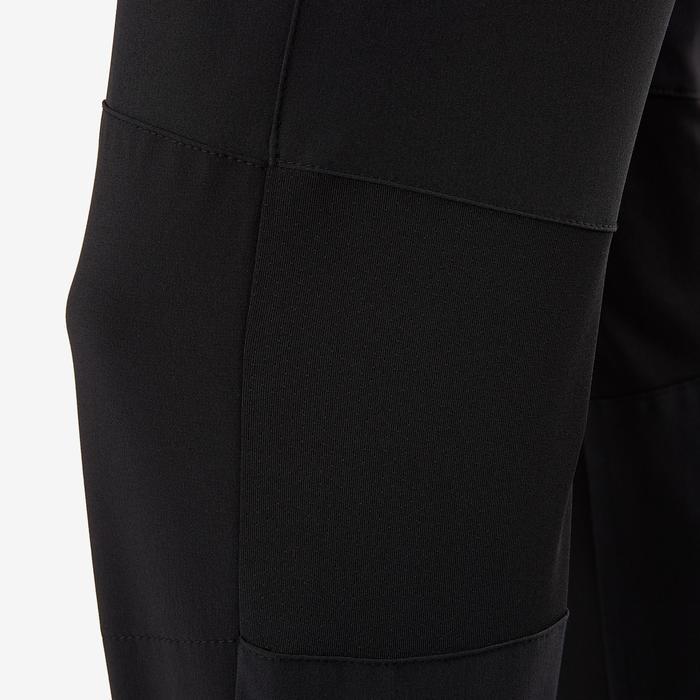 Pantalon regular léger respirant, résistant W900 garçon GYM ENFANT noir