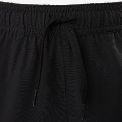 Broek regular fit licht ademend, sterk W900 jongens GYM KINDEREN zwart
