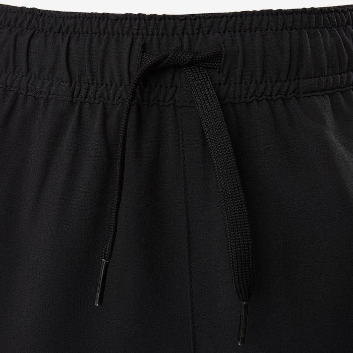 Kids' Breathable Durable Light Wide-Fit Gym Bottoms W900 - Black