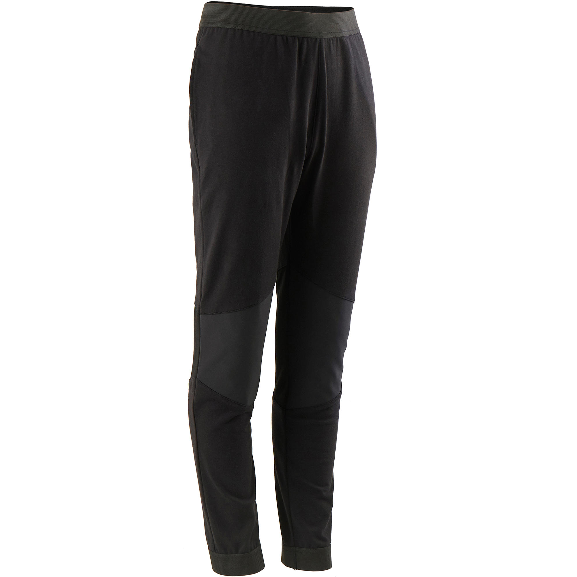 Pantalon 500 gri băieți