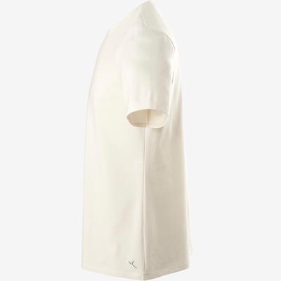 T-Shirt homme 500 greige regular col rond