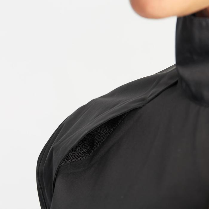 Wielren regenjas 500 dames zwart