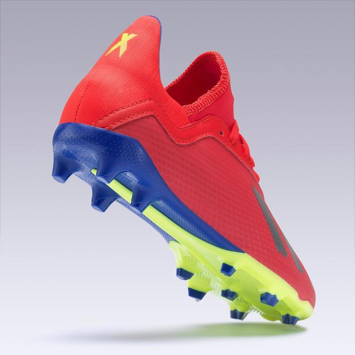 Voetbalschoenen voor kinderen X 18.3 FG rood