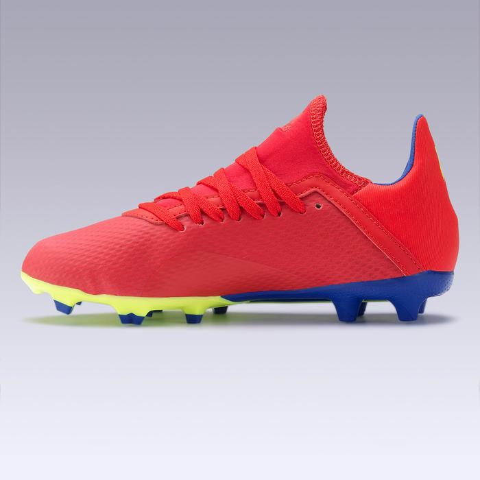 Chaussure de football enfant X 18.3 FG rouge