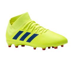 Botas de fútbol júnior Nemeziz 18.3 FG amarillo e4a28c334ead8