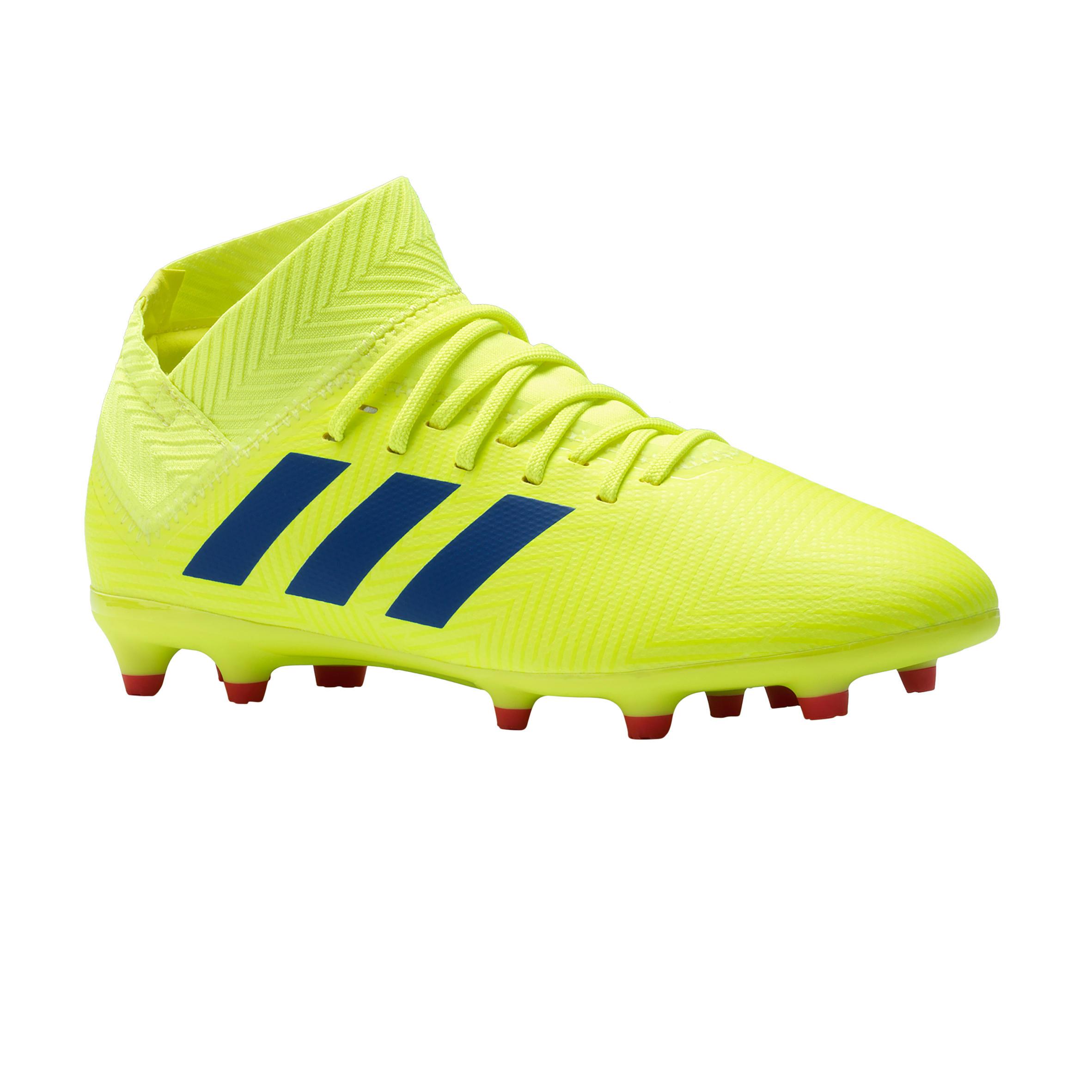 Adidas Voetbalschoenen kind Nemeziz 18.3 FG geel