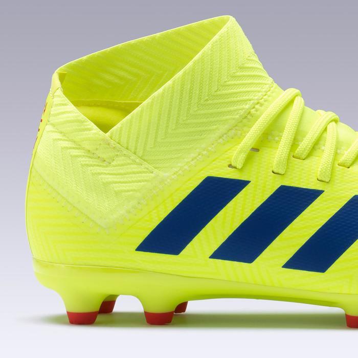 791b8f1987747 Botas de fútbol júnior Nemeziz 18.3 FG amarillo Adidas