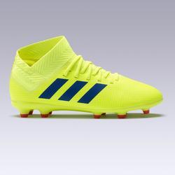 Voetbalschoenen kind Nemeziz 18.3 FG geel