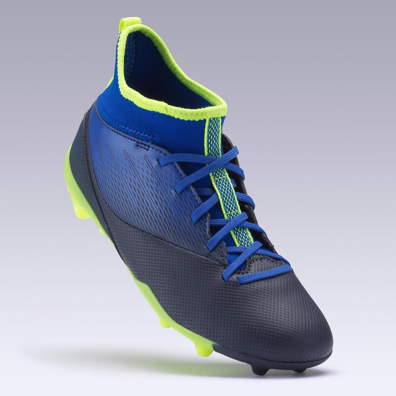 Çocuk Krampon / Futbol Ayakkabısı - Mavi / Siyah - AGILITY 500 MG