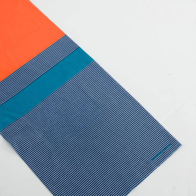 RoadR 100 Cycling Neck Warmer - Blue/Orange