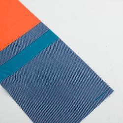 BRAGA DE CUELLO CICLISMO ROADR 100 azul / naranja