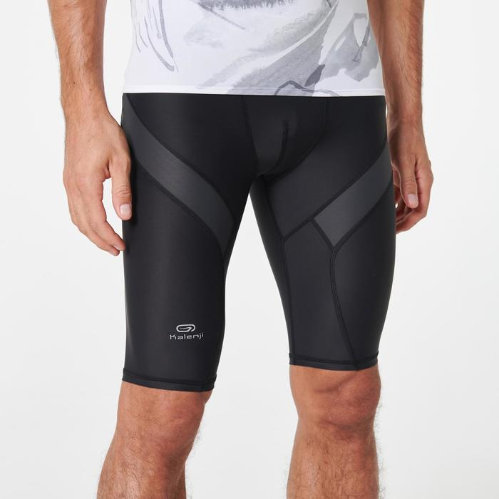 Men's Trail Running Tight Shorts - Black/Carbon