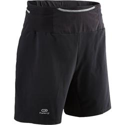 Men's trail running baggy shorts black
